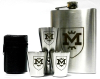 Набор металлический - фляга и стопки ФК Металлист 1925