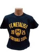 Футболка трикотажна ФК Металіст 1925 модель CLUB темно- синя