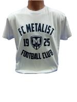 Футболка трикотажна ФК Металіст 1925 модель CLUB біла