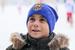 Шапка  тренувальна  ФК Металіст 1925 ( синя )