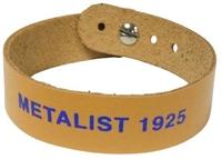 Браслет шкіряний ФК Металіст 1925 модель 1