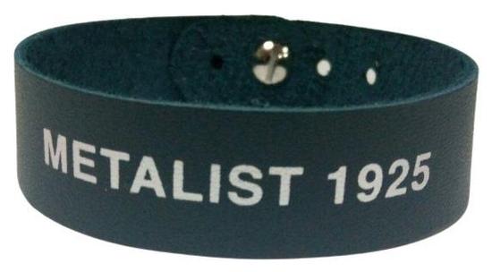 Браслет шкіряний ФК Металіст 1925 модель 2