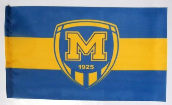 Флаг автомобильный ФК Металлист 1925