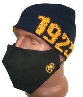 Набор шапка тренировочная и защитная маска ФК Металлист 1925
