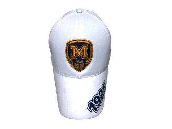 Бейсболка ФК Металлист 1925 модель М белая