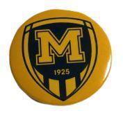 Значок ФК Металлист 1925 желтый