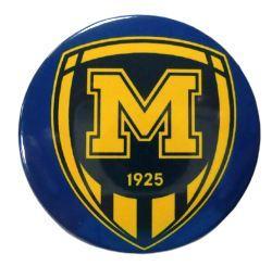 Значок ФК Металіст 1925 синій