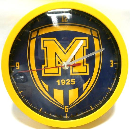 Годинник  настінний ФК Металіст 1925 модель Логотип варіант-1