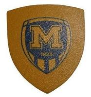 Магніт шкіряний ФК Металіст 1925 модель 6