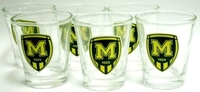 A set wine glasses FC Metalist 1925