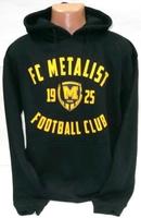 Толстовка ( худи ) черная ФК Металлист 1925