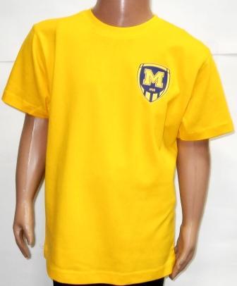 Футболка дитяча ( жовта )  ФК Металіст 1925