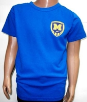 Футболка детская ( синяя )  ФК Металлист 1925