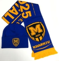 Set of cap and scarf FC Metalist 1925 option-2