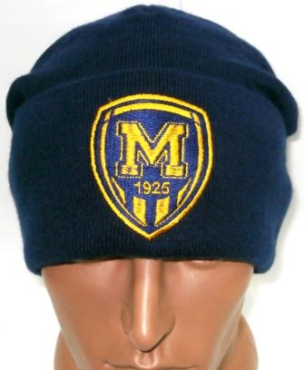 Шапка тренировочная ФК Металлист 1925 ( темно- синяя )