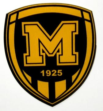 Магніт емблема ФК Металіст 1925