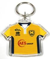 Брелок  для ключів ФК Металіст 1925 модель футболка